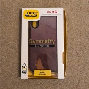 iPhone X/XS OtterBox Symmetry Cell Phone Case